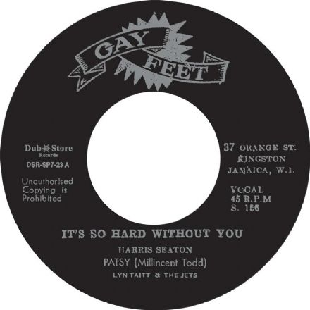 Patsy - It's So Hard Without You / Little Flea (Gay Feet / Dub Store Records) JPN 7""